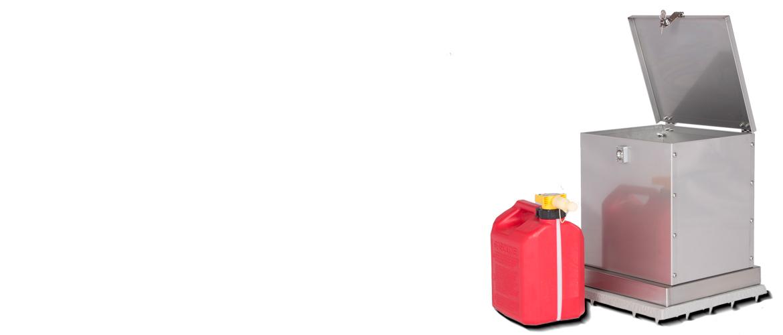 Gasoline storage container